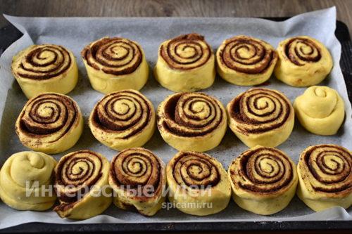 заготовки булочек
