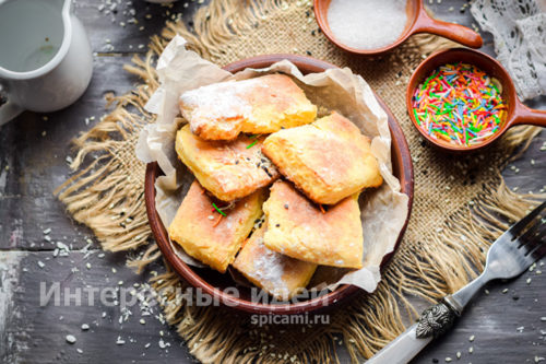 мягкое и нежное творожное печенье