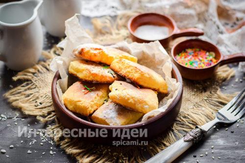 творожное печенье готово