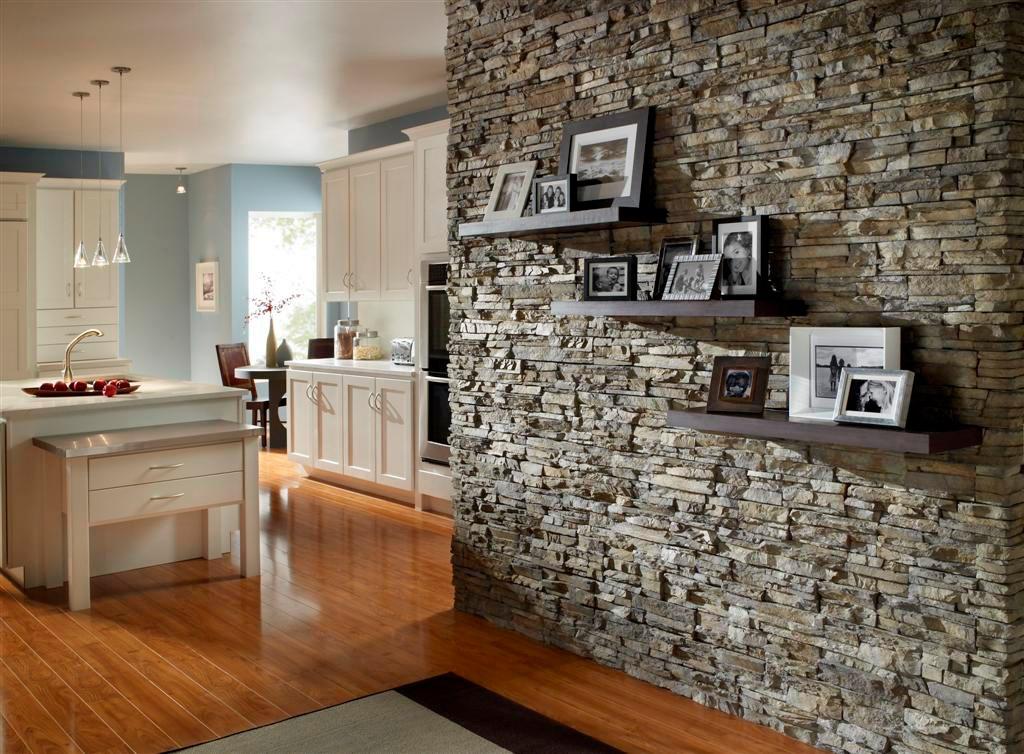 Каменный декор стен4