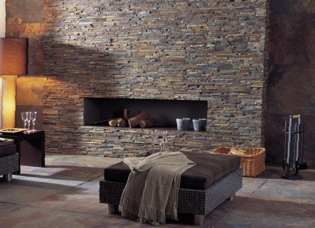Каменный декор стен3