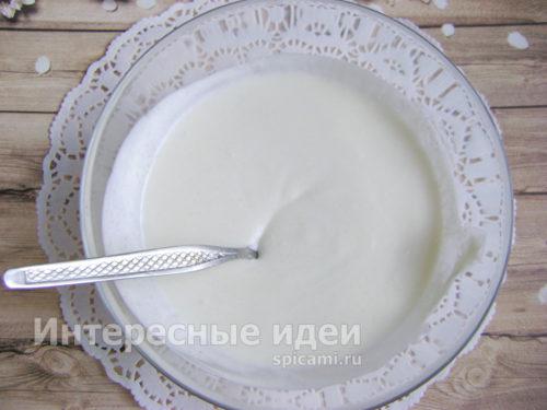 сметанный крем