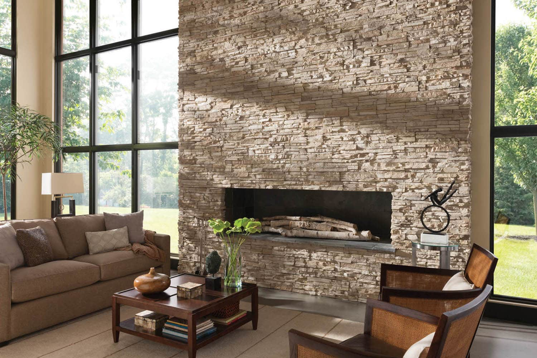 Каменный декор стен