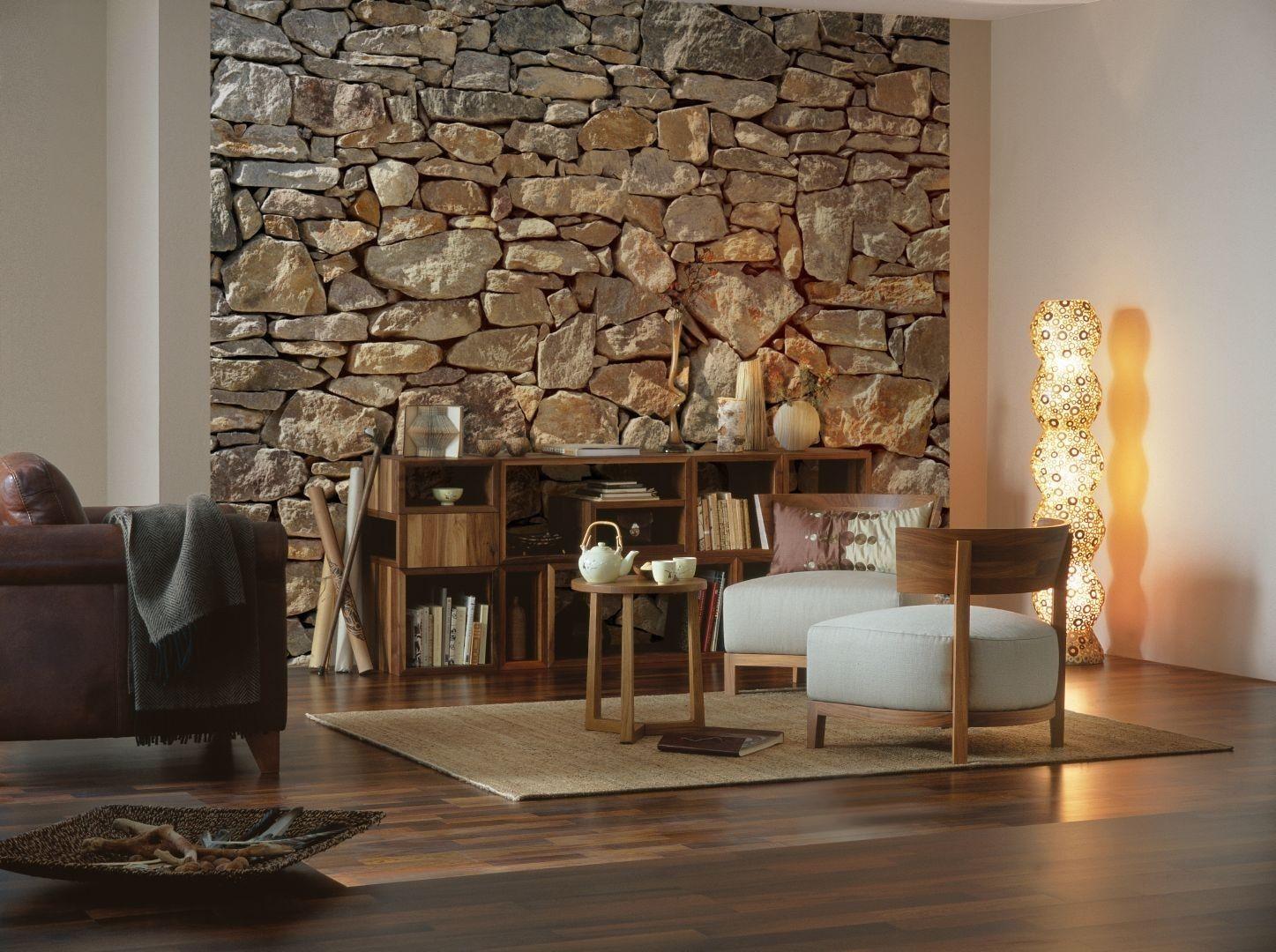 Каменный декор стен1