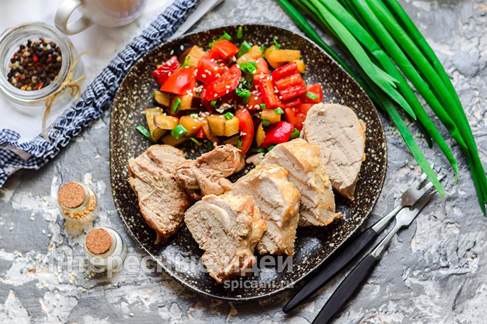 обалденное мясо в духовке