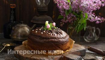 Шоколадный торт на раз два три — популярный рецепт от Энди Шеф