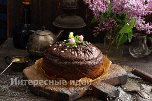 шоколадный торт от Энди Шеф