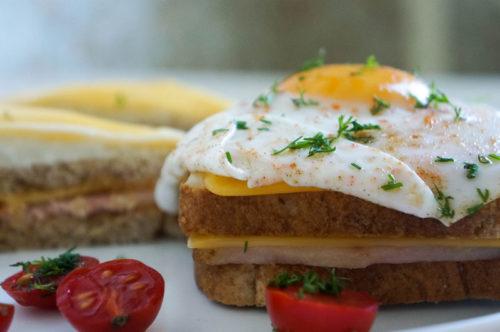 Французские бутерброды крок-месье