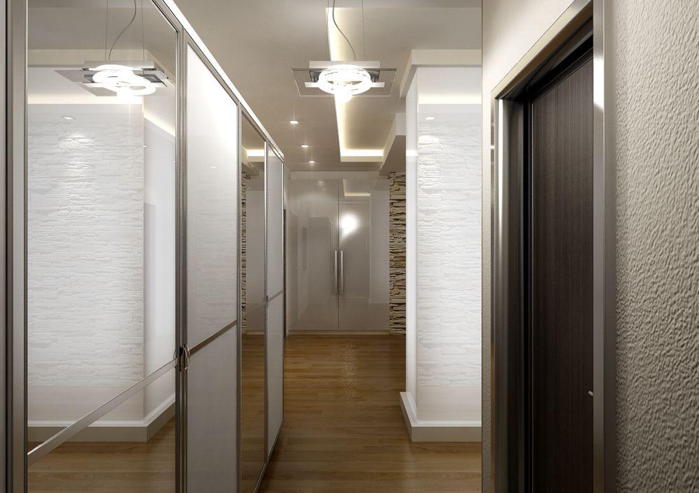 узкий коридор встроенный шкаф освещение фото вместе куклами выступали