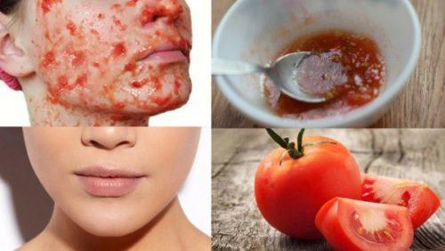 pomidor maska