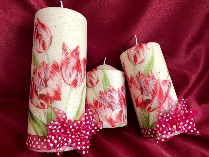 Картинки с розами и свечами можете