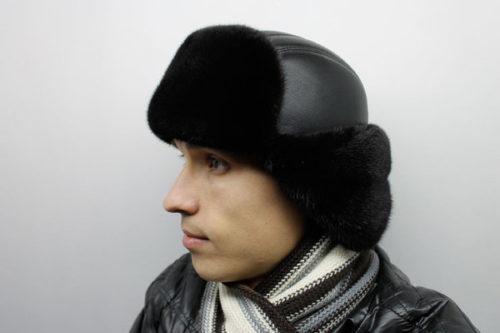 Мужские шапки из меха