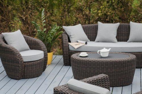 Садовая мебель из ротанга в 2020 году